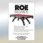 Roe Billiards Ad