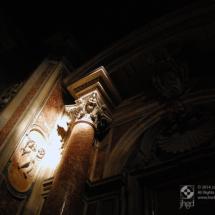 Column, St. Peter's Basilica, Vatican