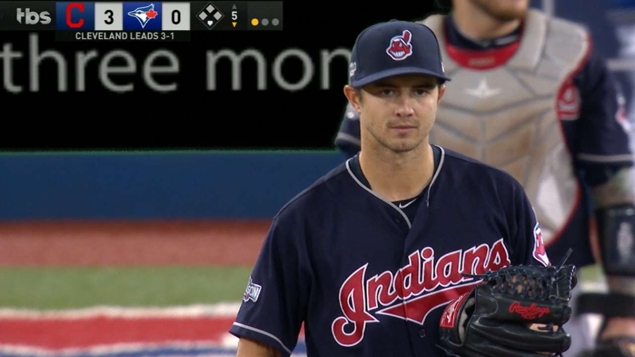 Ryan Merritt (Screen shot from mlb.indians.com)